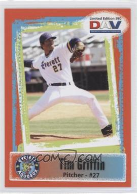 2011 Disabled American Veterans Minor League - [Base] #980 - Tim Griffin