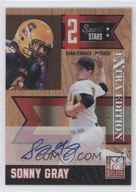 2011 Donruss Elite Extra Edition - 2 Sport Stars - Signatures [Autographed] #5 - Sonny Gray /25