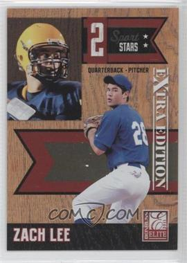 2011 Donruss Elite Extra Edition - 2 Sport Stars #4 - Zach Lee /499