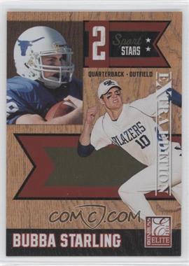 2011 Donruss Elite Extra Edition - 2 Sport Stars #6 - Bubba Starling /499