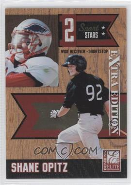 2011 Donruss Elite Extra Edition - 2 Sport Stars #8 - Shane Opitz /499