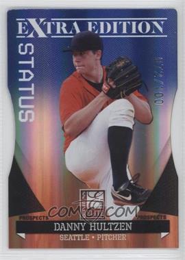 2011 Donruss Elite Extra Edition - Autographed Prospects - Blue Die-Cut Status Non-Autographed #P-16 - Danny Hultzen /100