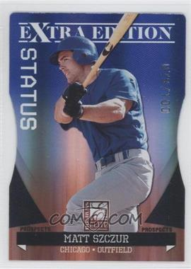 2011 Donruss Elite Extra Edition - Autographed Prospects - Blue Die-Cut Status Non-Autographed #P-21 - Matt Szczur /100