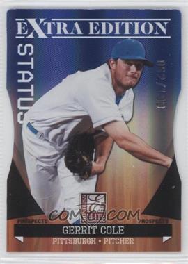 2011 Donruss Elite Extra Edition - Autographed Prospects - Blue Die-Cut Status Non-Autographed #P-3 - Gerrit Cole /100