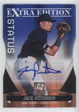 2011 Donruss Elite Extra Edition - Autographed Prospects - Blue Die-Cut Status #P-18 - Jace Peterson /50