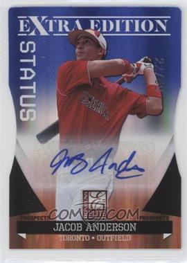 2011 Donruss Elite Extra Edition - Autographed Prospects - Blue Die-Cut Status #P-28 - Jacob Anderson /50