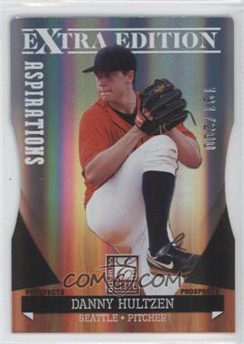 2011 Donruss Elite Extra Edition - Autographed Prospects - Die-Cut Aspirations Non-Autographed #P-16 - Danny Hultzen /200