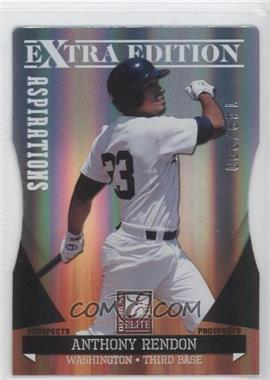 2011 Donruss Elite Extra Edition - Autographed Prospects - Die-Cut Aspirations Non-Autographed #P-2 - Anthony Rendon /200