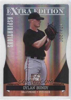 2011 Donruss Elite Extra Edition - Autographed Prospects - Die-Cut Aspirations Non-Autographed #P-4 - Dylan Bundy /200