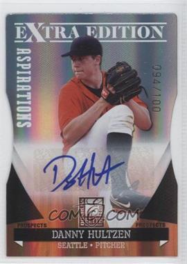 2011 Donruss Elite Extra Edition - Autographed Prospects - Die-Cut Aspirations #P-16 - Danny Hultzen /100