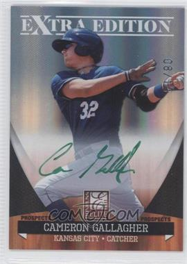 2011 Donruss Elite Extra Edition - Autographed Prospects - Green Ink #P-26 - Cameron Gallagher /10