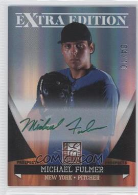 2011 Donruss Elite Extra Edition - Autographed Prospects - Green Ink #P-29 - Michael Fulmer /10