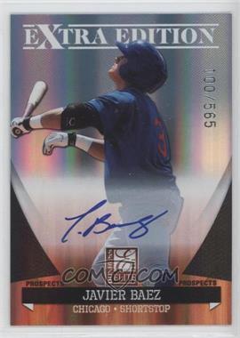 2011 Donruss Elite Extra Edition - Autographed Prospects #P-15 - Javier Baez /565