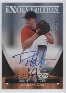 2011 Donruss Elite Extra Edition - Autographed Prospects #P-16 - Danny Hultzen /642