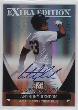 2011 Donruss Elite Extra Edition - Autographed Prospects #P-2 - Anthony Rendon /653