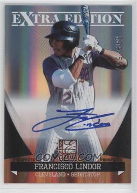 2011 Donruss Elite Extra Edition - Autographed Prospects #P-39 - Francisco Lindor /557