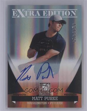 2011 Donruss Elite Extra Edition - Autographed Prospects #P-43 - Matt Purke /465 [Mint]