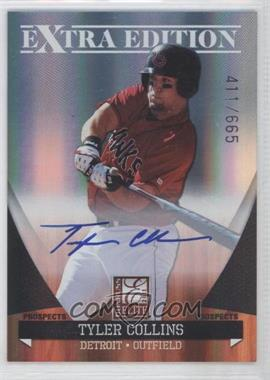 2011 Donruss Elite Extra Edition - Autographed Prospects #P-6 - Tyler Collins /665