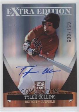 2011 Donruss Elite Extra Edition - Autographed Prospects #P-6 - Tyler Collins /665