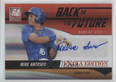 2011 Donruss Elite Extra Edition - Back to the Future Signatures #1 - Mike Antonio /720