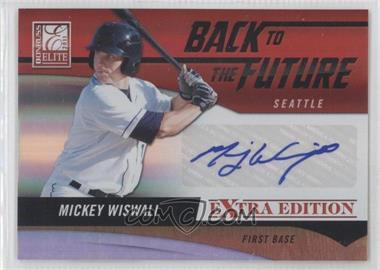 2011 Donruss Elite Extra Edition - Back to the Future Signatures #13 - Mickey Wiswall /320