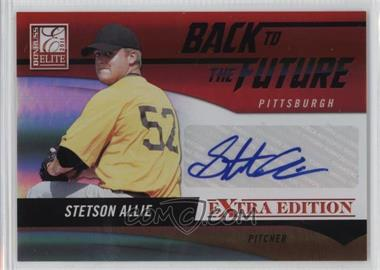 2011 Donruss Elite Extra Edition - Back to the Future Signatures #20 - Stetson Allie /220