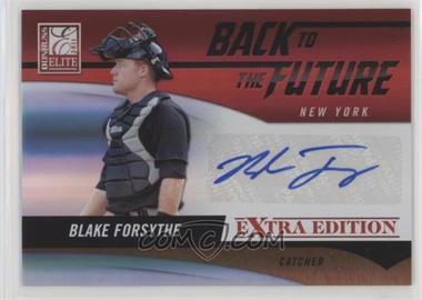 2011 Donruss Elite Extra Edition - Back to the Future Signatures #22 - Blake Forsythe /184