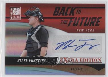 2011 Donruss Elite Extra Edition - Back to the Future Signatures #22 - Blake Forsythe /184