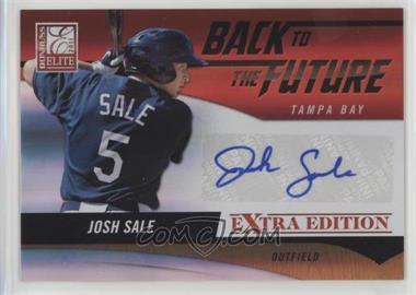 2011 Donruss Elite Extra Edition - Back to the Future Signatures #24 - Josh Sale /94