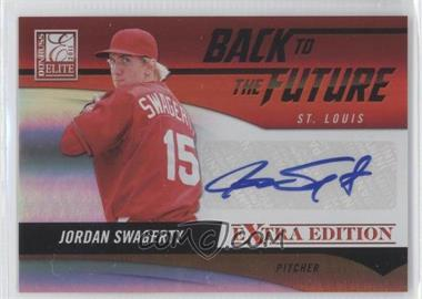 2011 Donruss Elite Extra Edition - Back to the Future Signatures #3 - Jordan Swagerty /262
