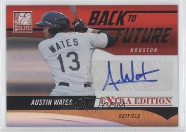 2011 Donruss Elite Extra Edition - Back to the Future Signatures #5 - Austin Wates /595