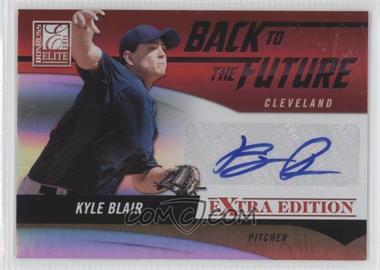 2011 Donruss Elite Extra Edition - Back to the Future Signatures #6 - Kyle Blair /99