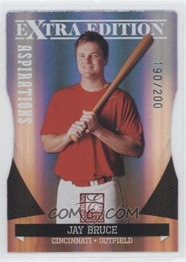 2011 Donruss Elite Extra Edition - [Base] - Aspirations Die-Cut #25 - Jay Bruce /200