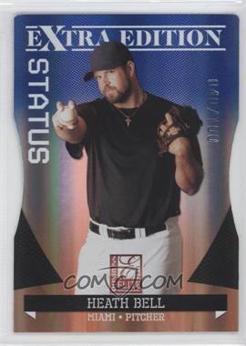 2011 Donruss Elite Extra Edition - [Base] - Blue Die-Cut Status #22 - Heath Bell /100