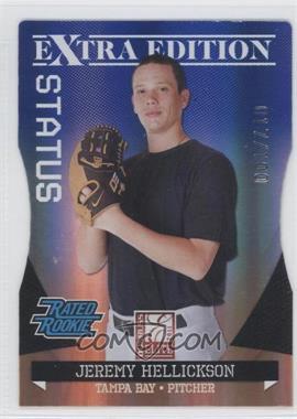 2011 Donruss Elite Extra Edition - [Base] - Blue Die-Cut Status #6 - Jeremy Hellickson /100