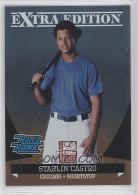 2011 Donruss Elite Extra Edition - [Base] #11 - Starlin Castro