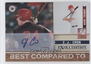 2011 Donruss Elite Extra Edition - Best Compared To - Signatures [Autographed] #3 - C.J. Cron /25