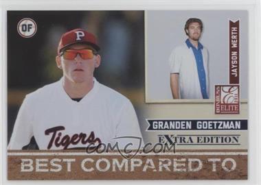 2011 Donruss Elite Extra Edition - Best Compared To #11 - Jayson Werth, Granden Goetzman /499