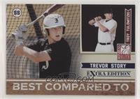Trevor Story, Troy Tulowitzki #/499