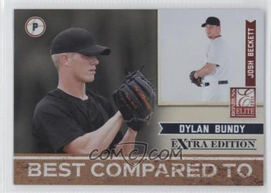 2011 Donruss Elite Extra Edition - Best Compared To #2 - Dylan Bundy, Josh Beckett /499