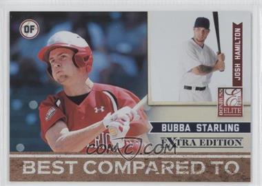 2011 Donruss Elite Extra Edition - Best Compared To #4 - Josh Hamilton, Bubba Starling /499