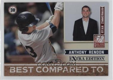 2011 Donruss Elite Extra Edition - Best Compared To #6 - Anthony Rendon, Ryan Zimmerman /499