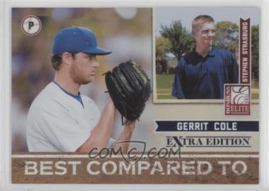 2011 Donruss Elite Extra Edition - Best Compared To #7 - Gerrit Cole, Stephen Strasburg /499