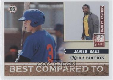 2011 Donruss Elite Extra Edition - Best Compared To #9 - Hanley Ramirez, Javier Baez /499