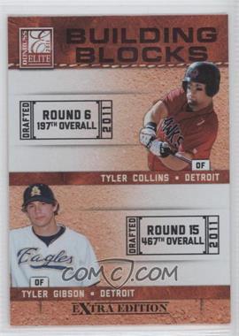 2011 Donruss Elite Extra Edition - Building Blocks Dual #5 - Tyler Gibson, Tyler Collins