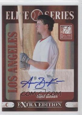 2011 Donruss Elite Extra Edition - Elite Series - Signatures [Autographed] #19 - Abel Baker /199