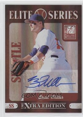 2011 Donruss Elite Extra Edition - Elite Series - Signatures [Autographed] #4 - Brad Miller /228