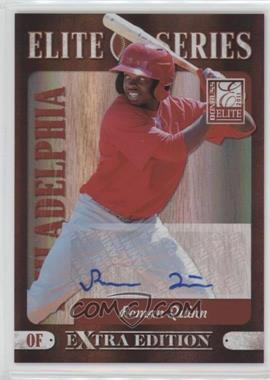 2011 Donruss Elite Extra Edition - Elite Series - Signatures [Autographed] #8 - Roman Quinn /199