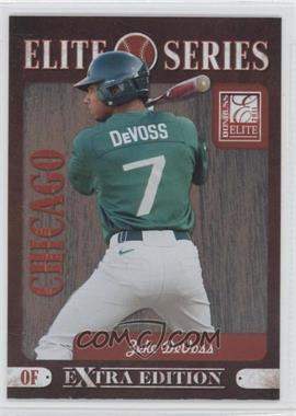 2011 Donruss Elite Extra Edition - Elite Series #11 - Zeke DeVoss