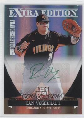 2011 Donruss Elite Extra Edition - Franchise Futures Signatures - Green Ink #32 - Dan Vogelbach /10